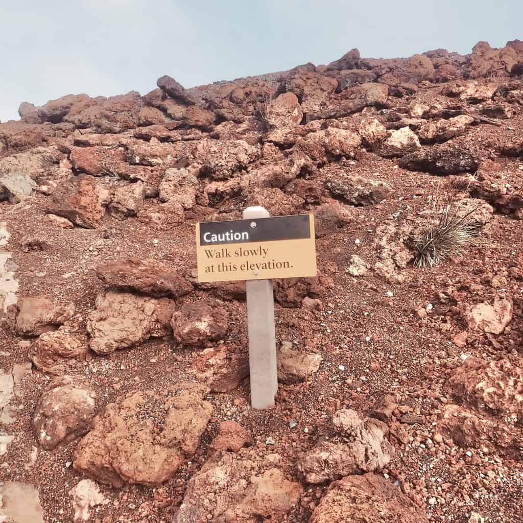 Haleakala elevation