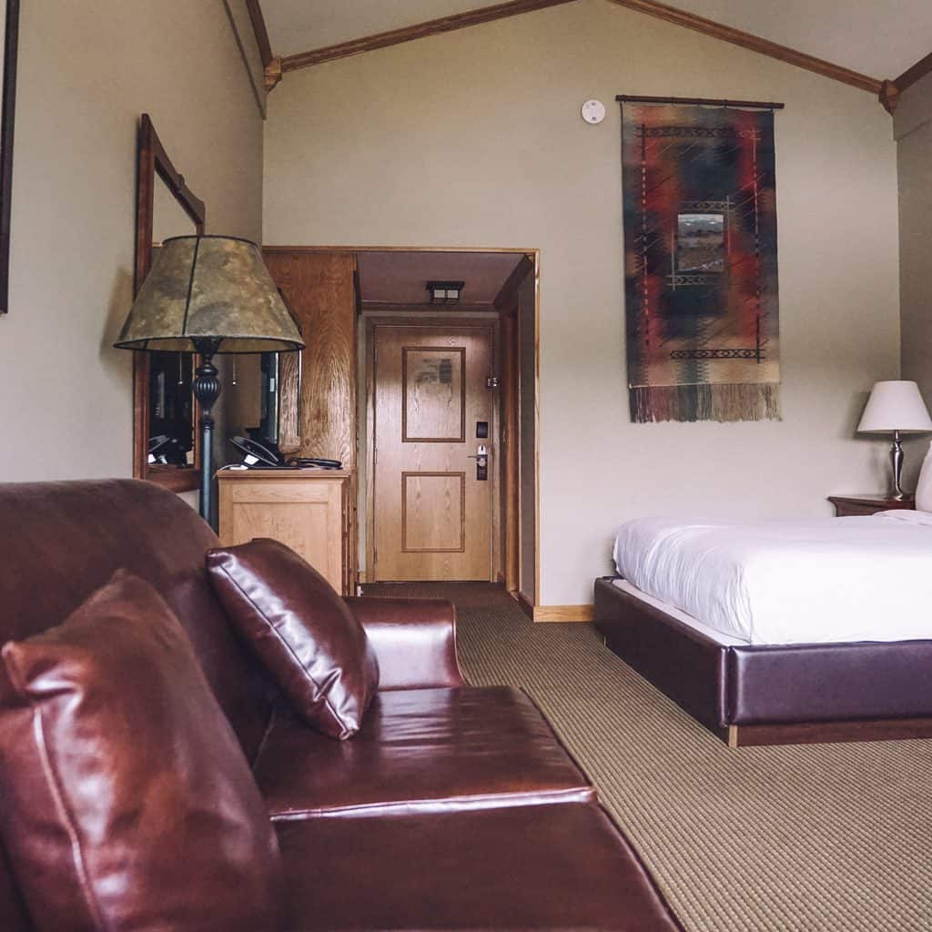 Our room at the Golden Arrow Lakeside Resort in Lake Placid