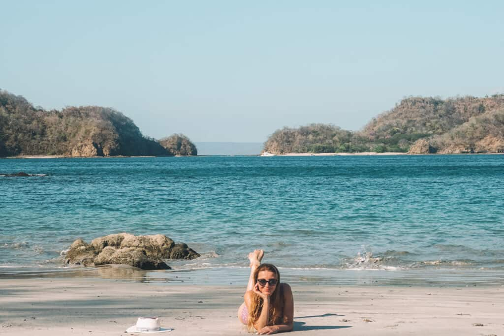 Romantic beach in Guanacaste, Costa Rica