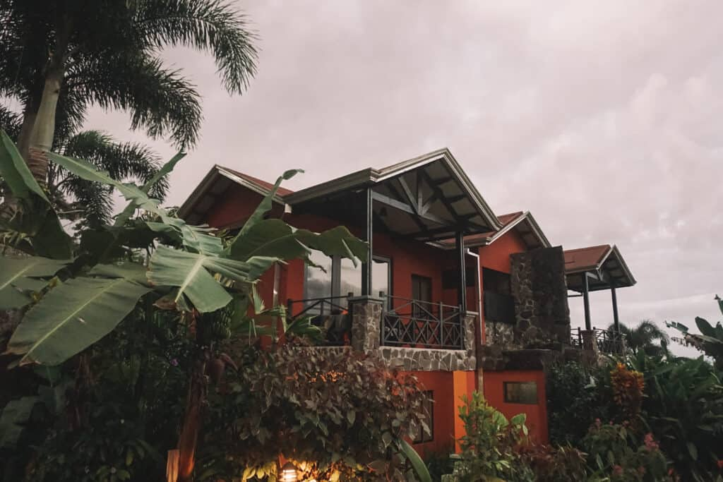 Hotel guest suit at Arenal Springs resort and Spa