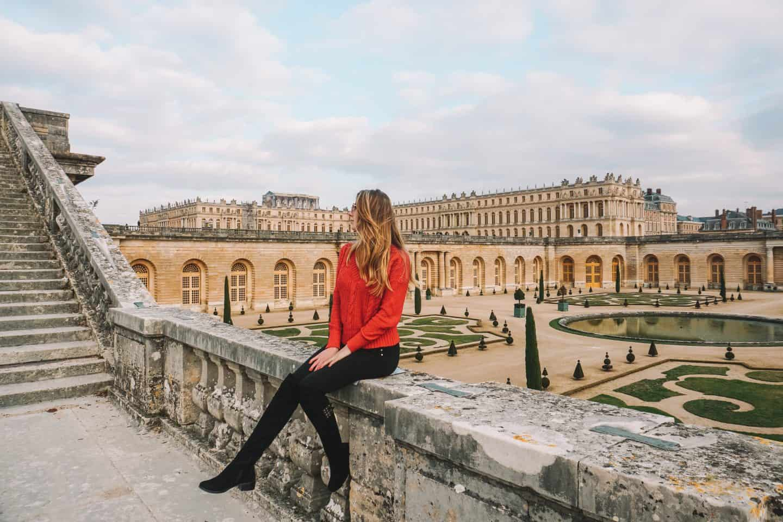 Visit to Versalles Palace during a week in Paris