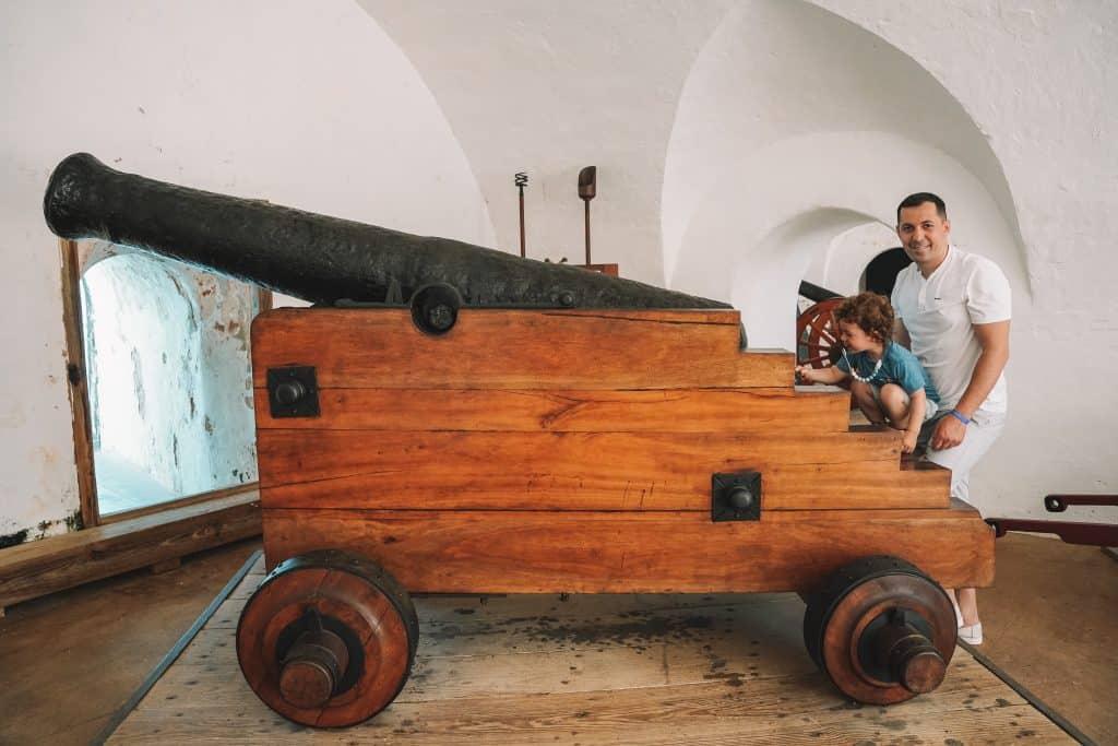Exploring El Morro Fort exhibitions