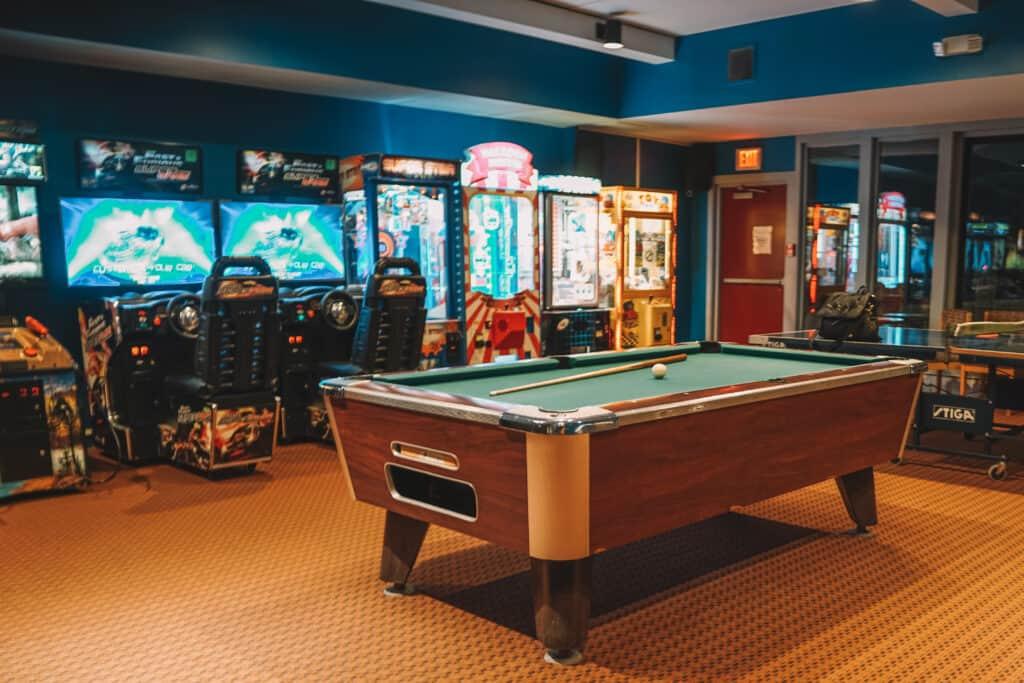 game room in  Innseasonresorts Pollard Brook