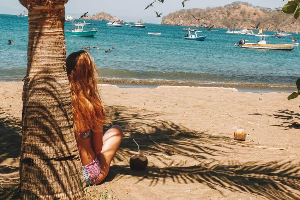 watching the ocean on playa del coco