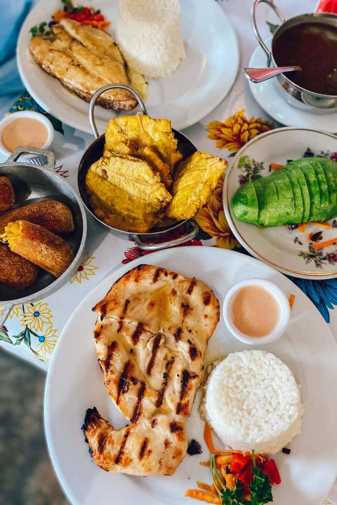 Local Puerto Rico dishes