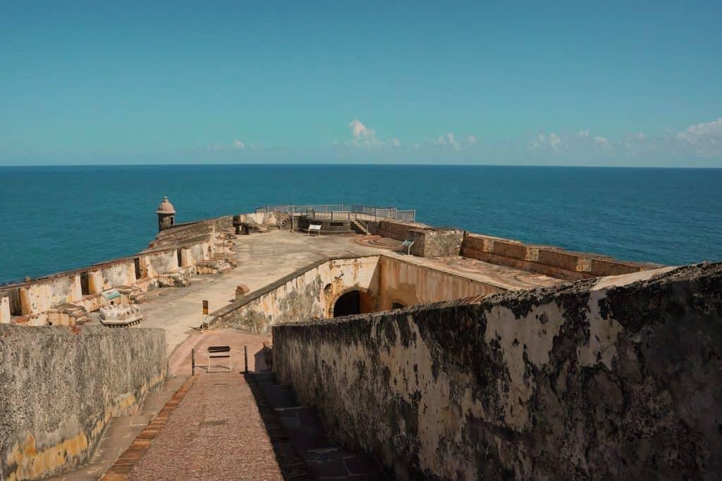 El Morro Fort ocean view